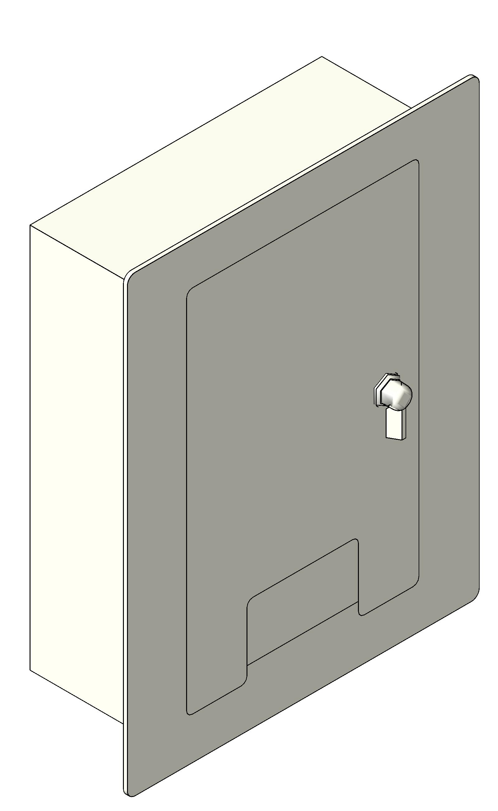 Electrical Wall Boxes : Bim objects families electrical devices
