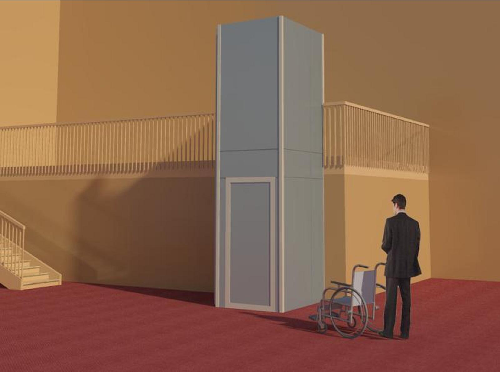 Garaventa lift wheelchair lifts bim objects families for Garaventa lift