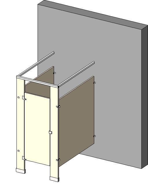 General partitions mfg corp compartments and cubicles - How to install bathroom partitions ...