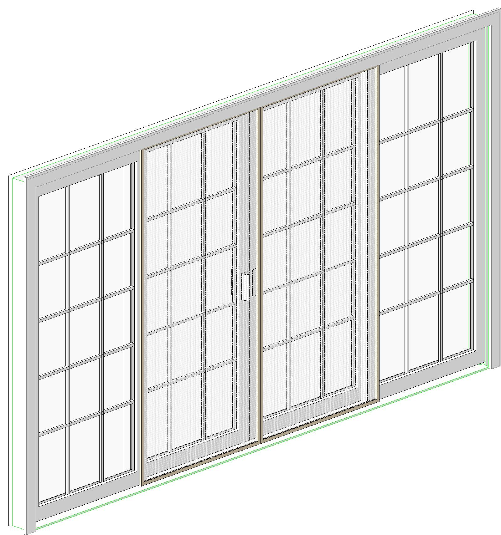 Harvey Building Products Plastic Windows BIM Objects Families