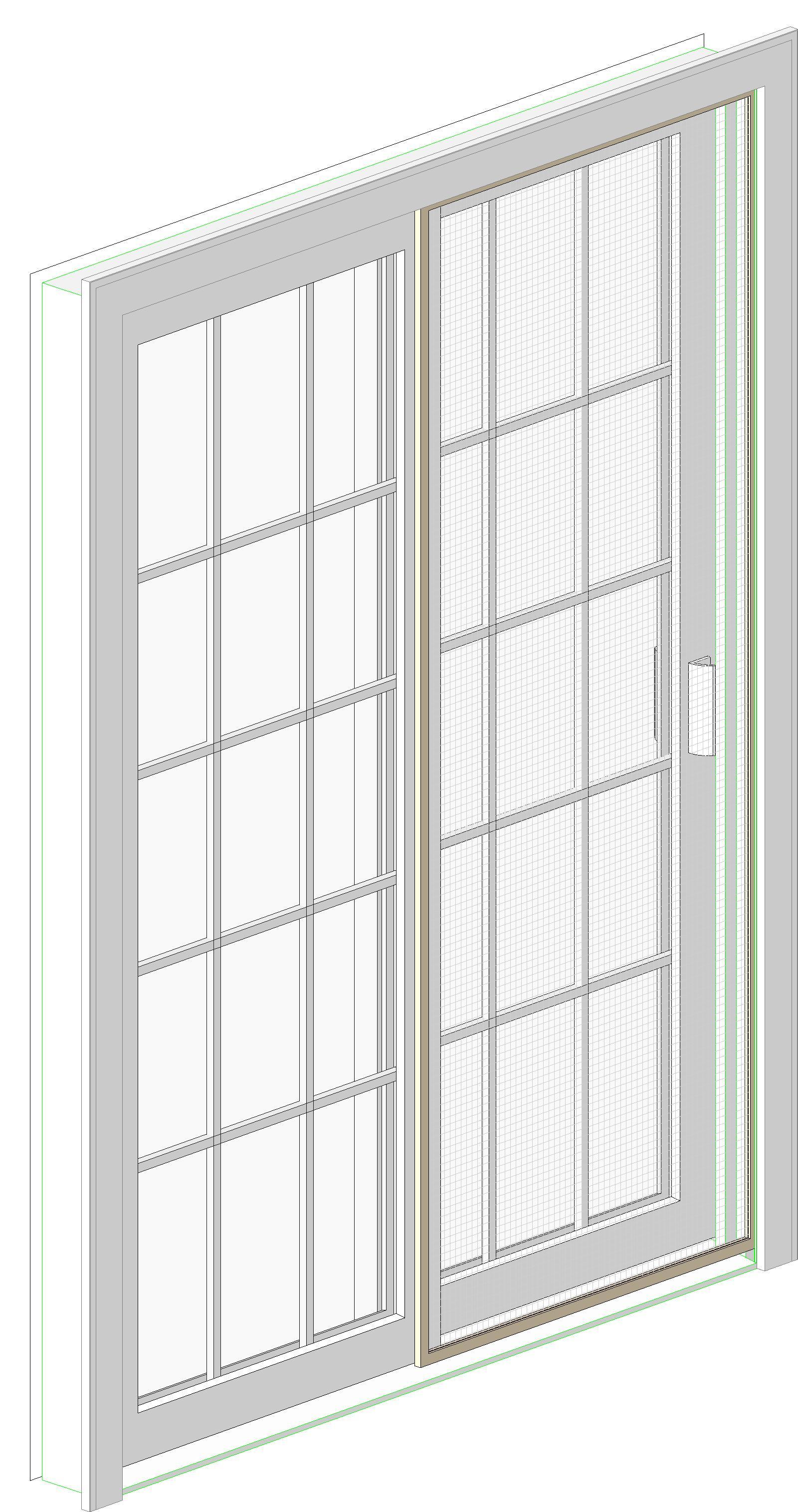 3030 #588744 Doors And Hardware: Sliding Doors: Vinyl ( Harvey Building Products ) save image Harvey Doors 43271600