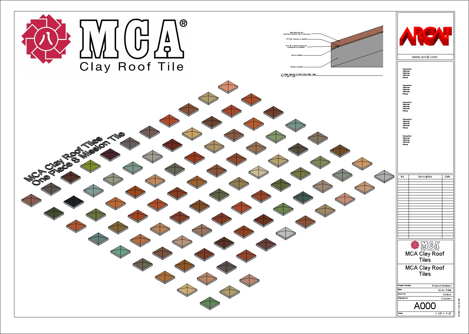 Roof Tiles - Thermal and Moisture Protection - Free BIM Objects