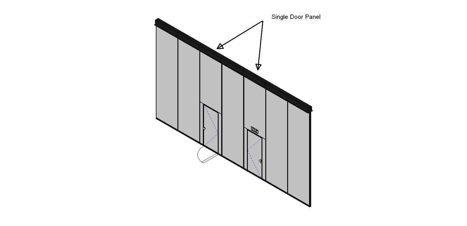 Wall Panels Operable Partition Gym Door Series Door Single  sc 1 st  Arcat & Moderco Inc. Operable Partitions BIM Objects / Families