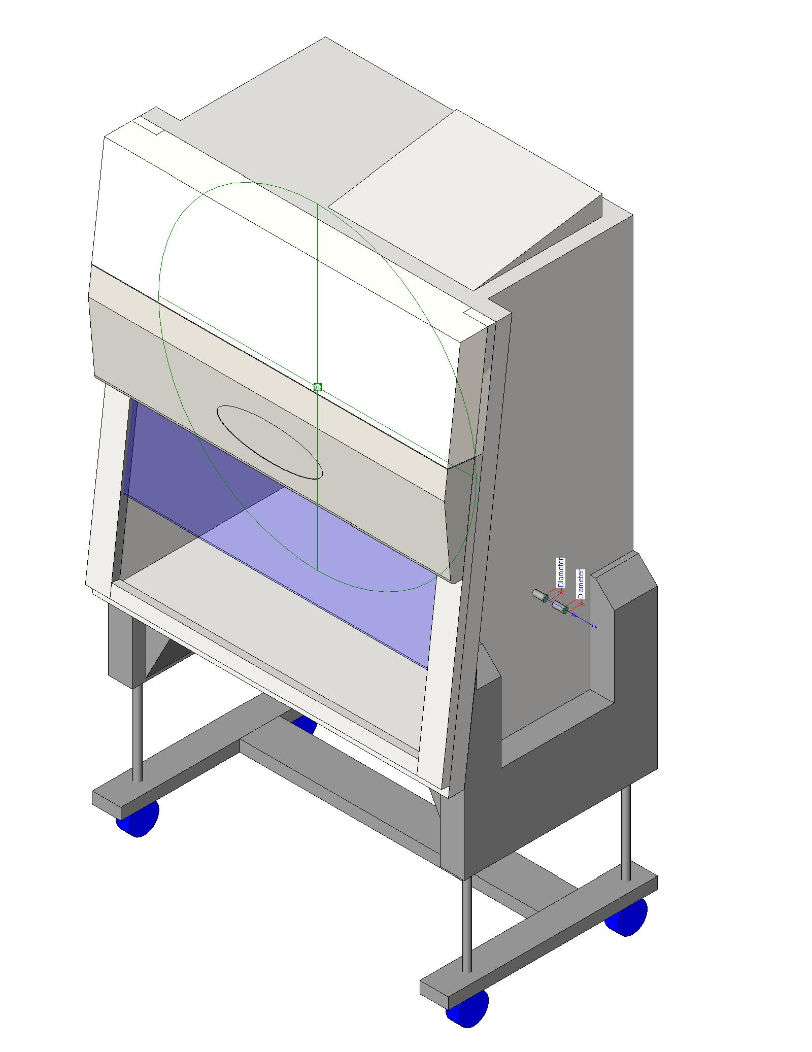 Class Ii Type A2 Biosafety Cabinet Nuaire Laboratory Equipment Supply Laboratory Equipment Bim