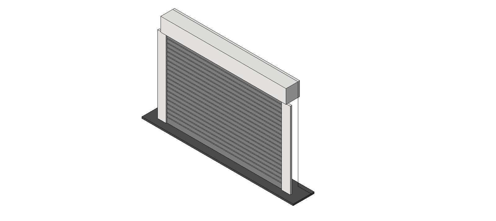 Doors and Hardware Overhead Doors Counters 651 Mounted Between Jambs  sc 1 st  BIM Objects / Families & BIM Objects / Families