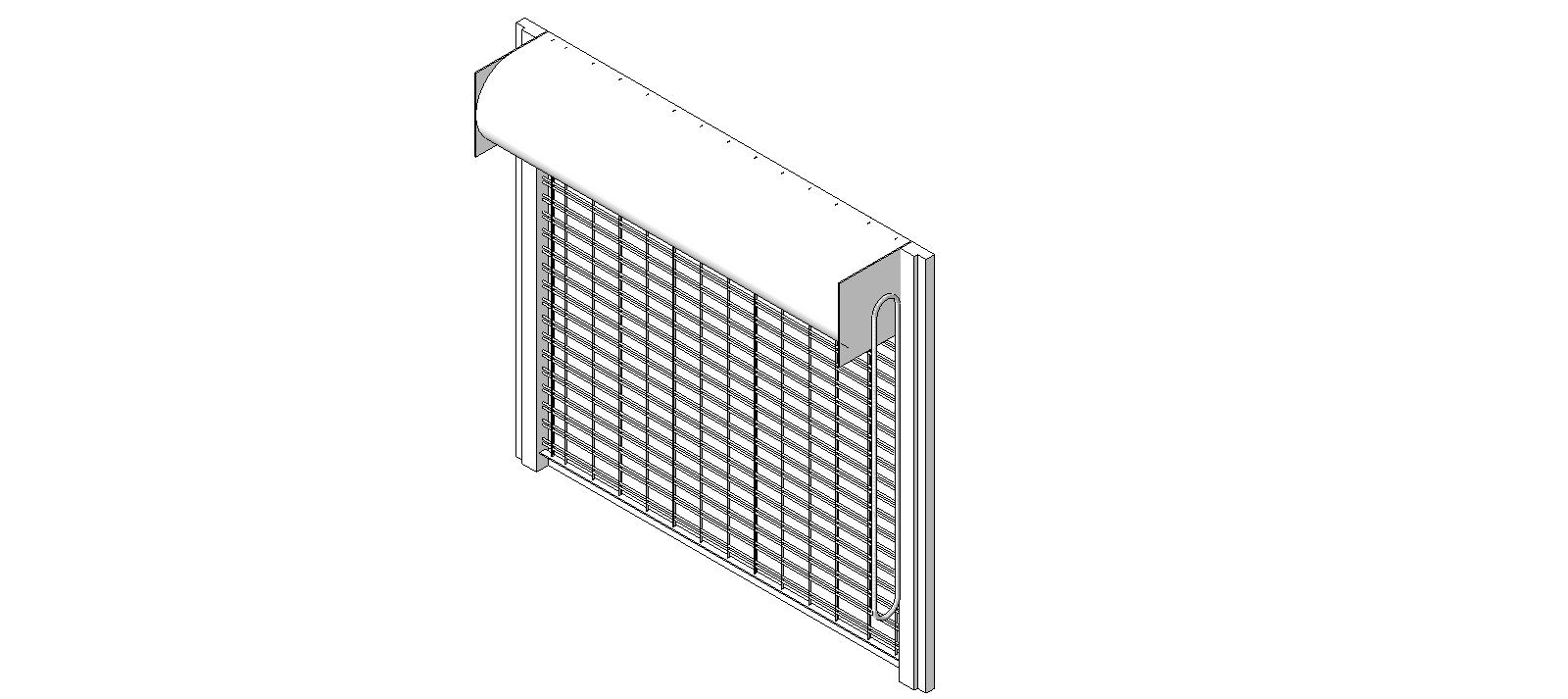 Overhead Door Corporation Coiling Doors And Grilles Bim