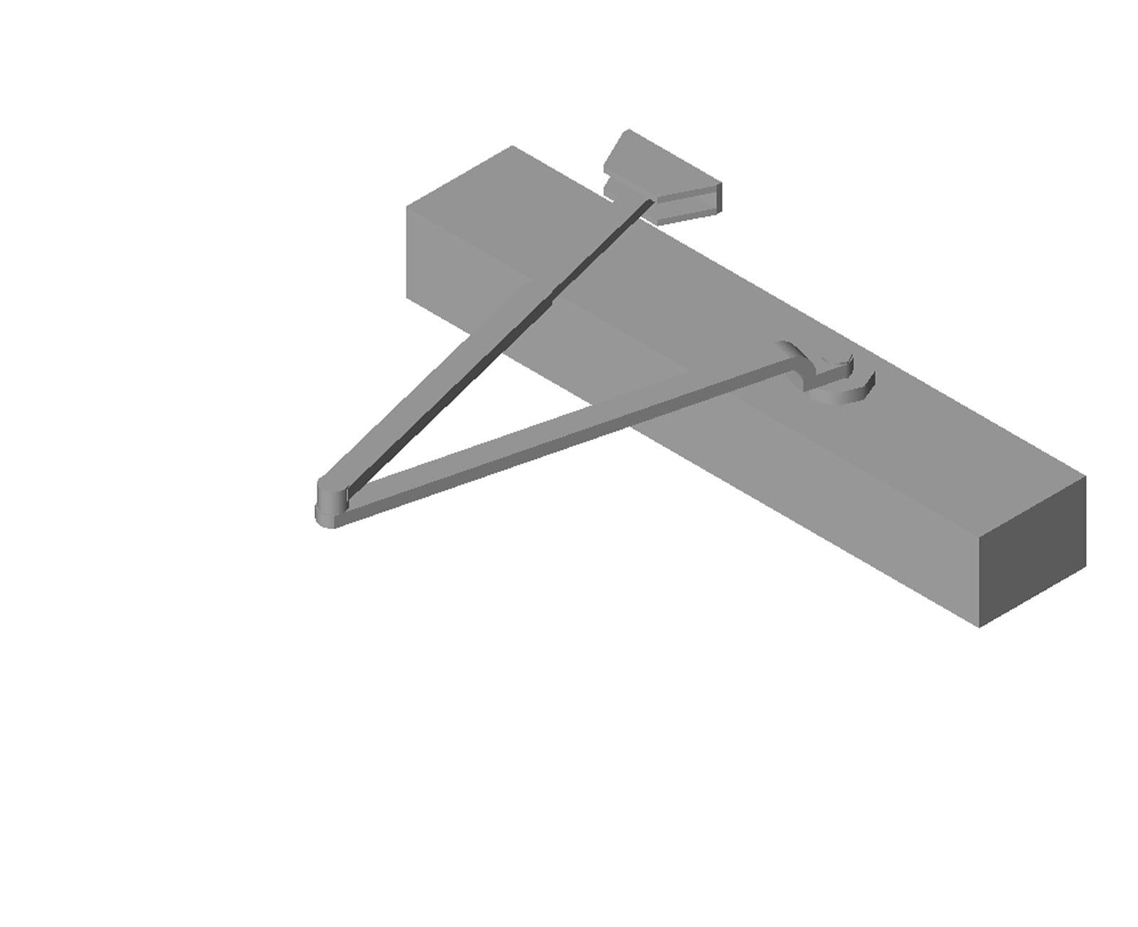 Doors and Hardware Door Hardware Door Controls PDQ - 5300 - Series  sc 1 st  BIM Objects / Families & BIM Objects / Families