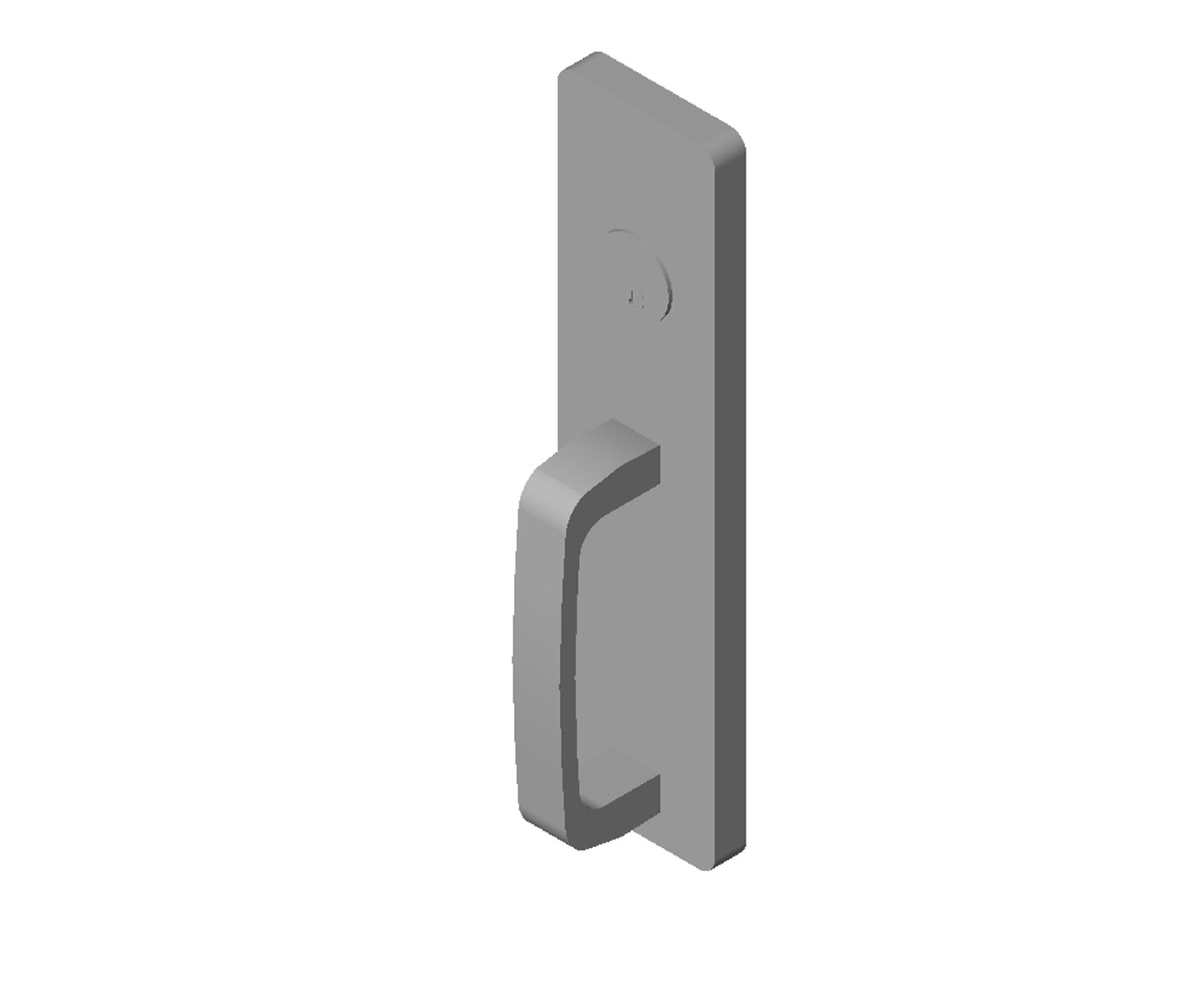 Doors and Hardware Door Hardware Exit Devices PDQ - 4200 Series - 429 - GPG  sc 1 st  BIM Objects / Families & BIM Objects / Families