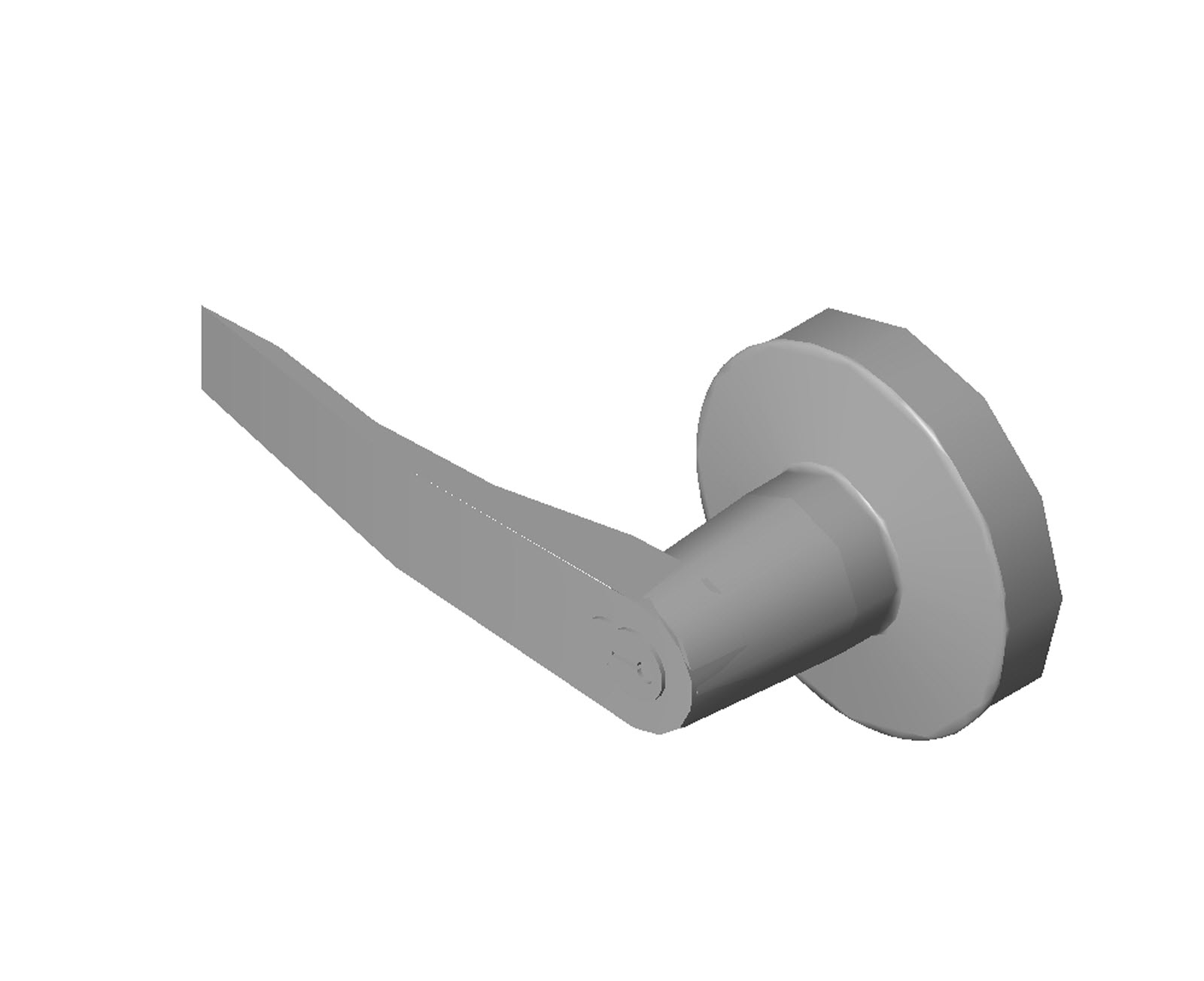 Doors and Hardware Door Hardware Exit Devices PDQ - 6200 Series - 629 - LMSH IC  sc 1 st  BIM Objects / Families & BIM Objects / Families