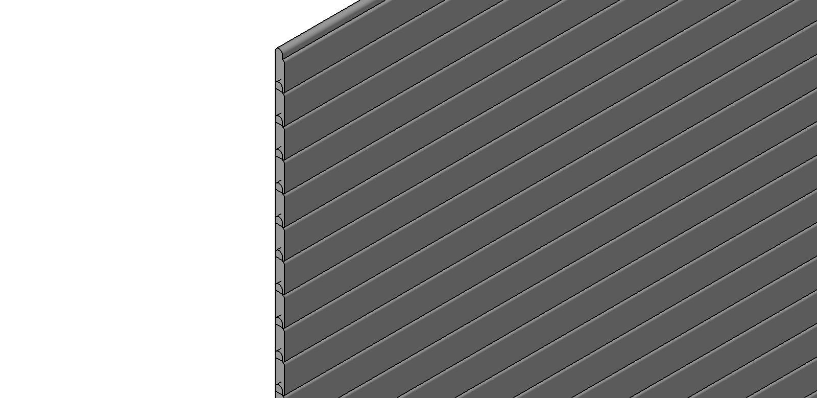 Overhead Doors Slat Doors Flat - 20625  sc 1 st  BIM Objects / Families & BIM Objects / Families