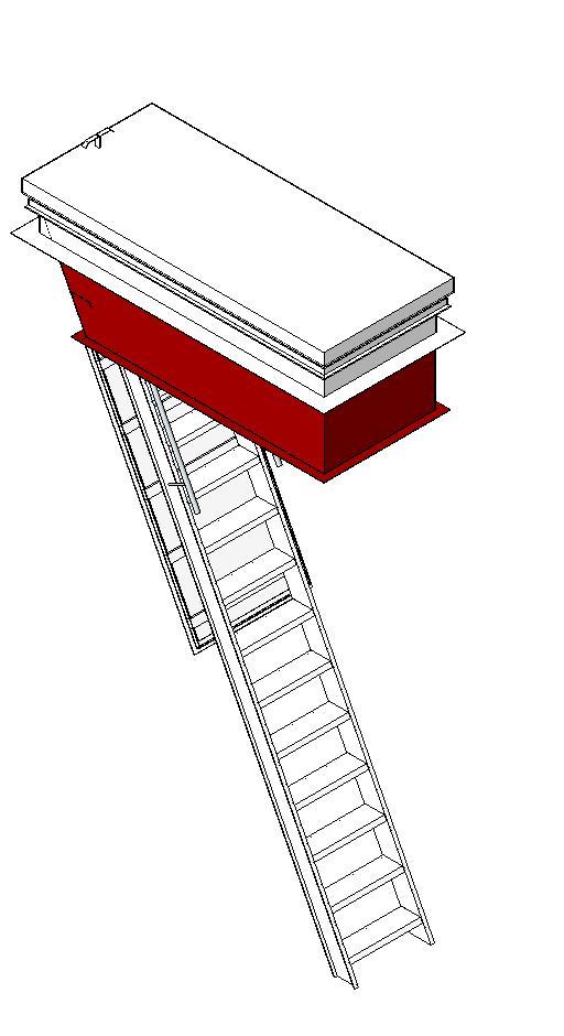 Precision Ladders Llc Metal Stairs Bim Objects Families