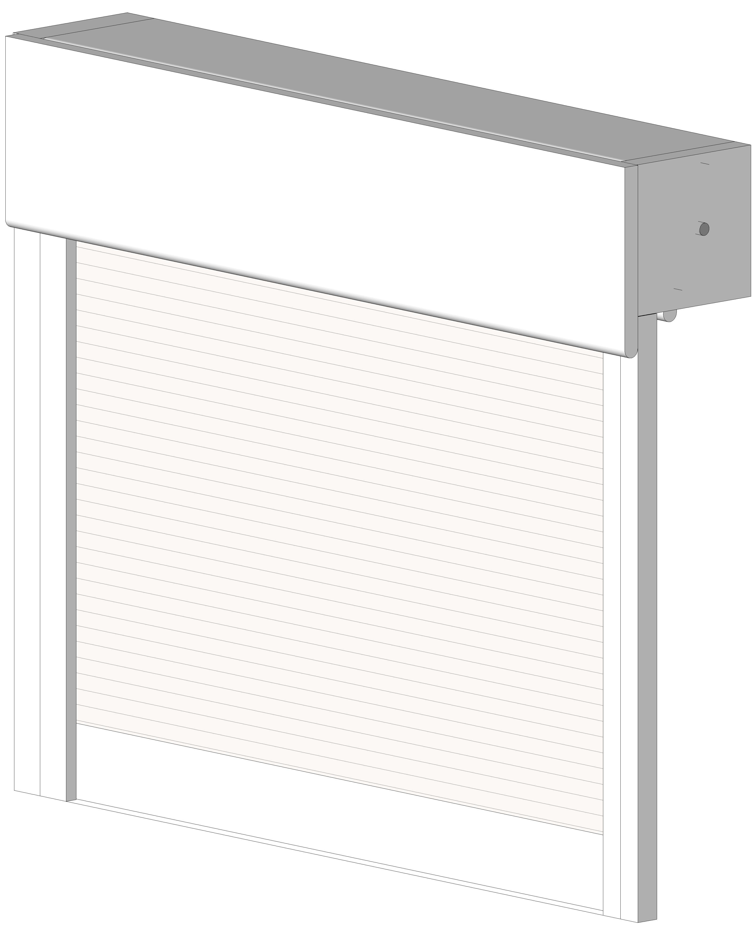 [ 08 33 00 ] Doors And Hardware: Rolling Doors: Fire Curtain