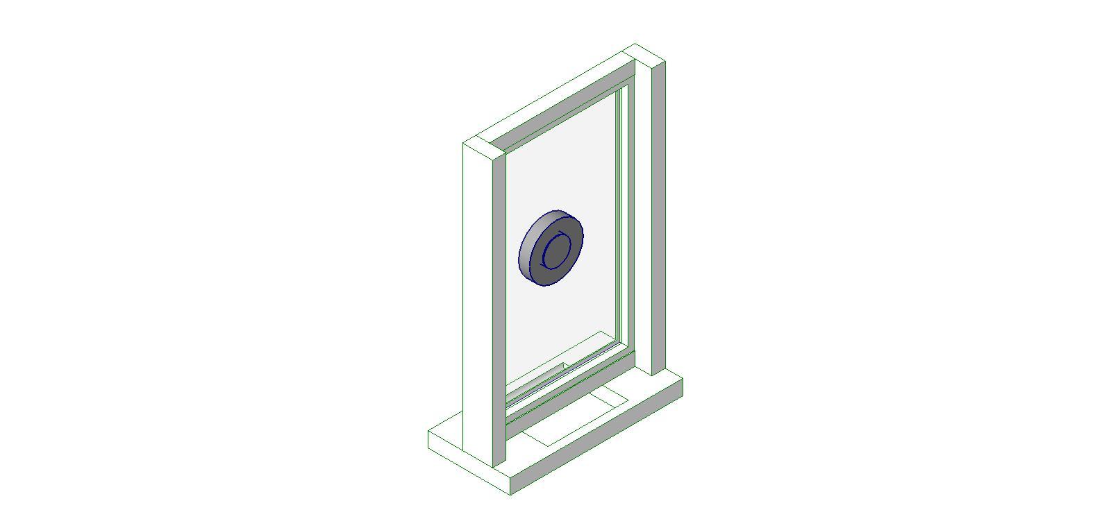Ready Access Drive Thru Windows Pass Windows Bim Objects