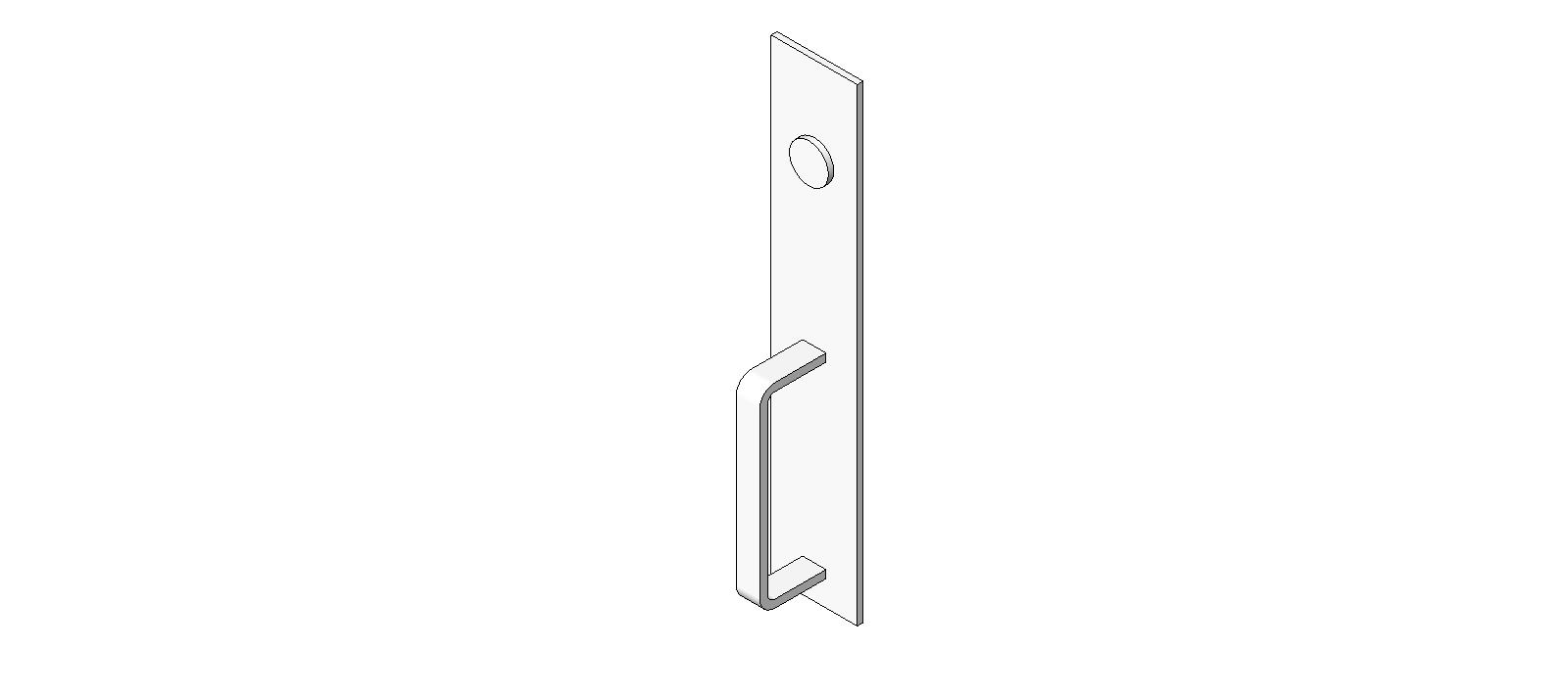 Door Hardware: Exit Device Trim: Precision 1700