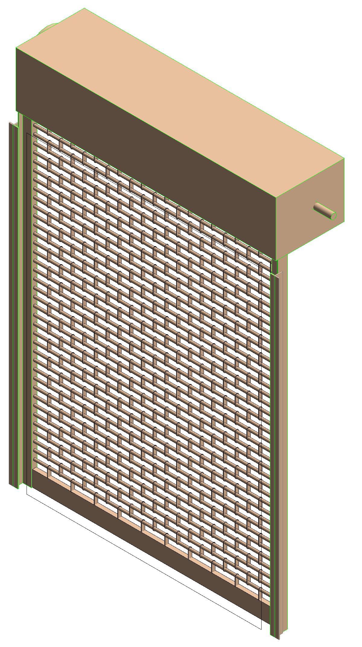 Rolling Door Revit Amp Sectional Steel Doors