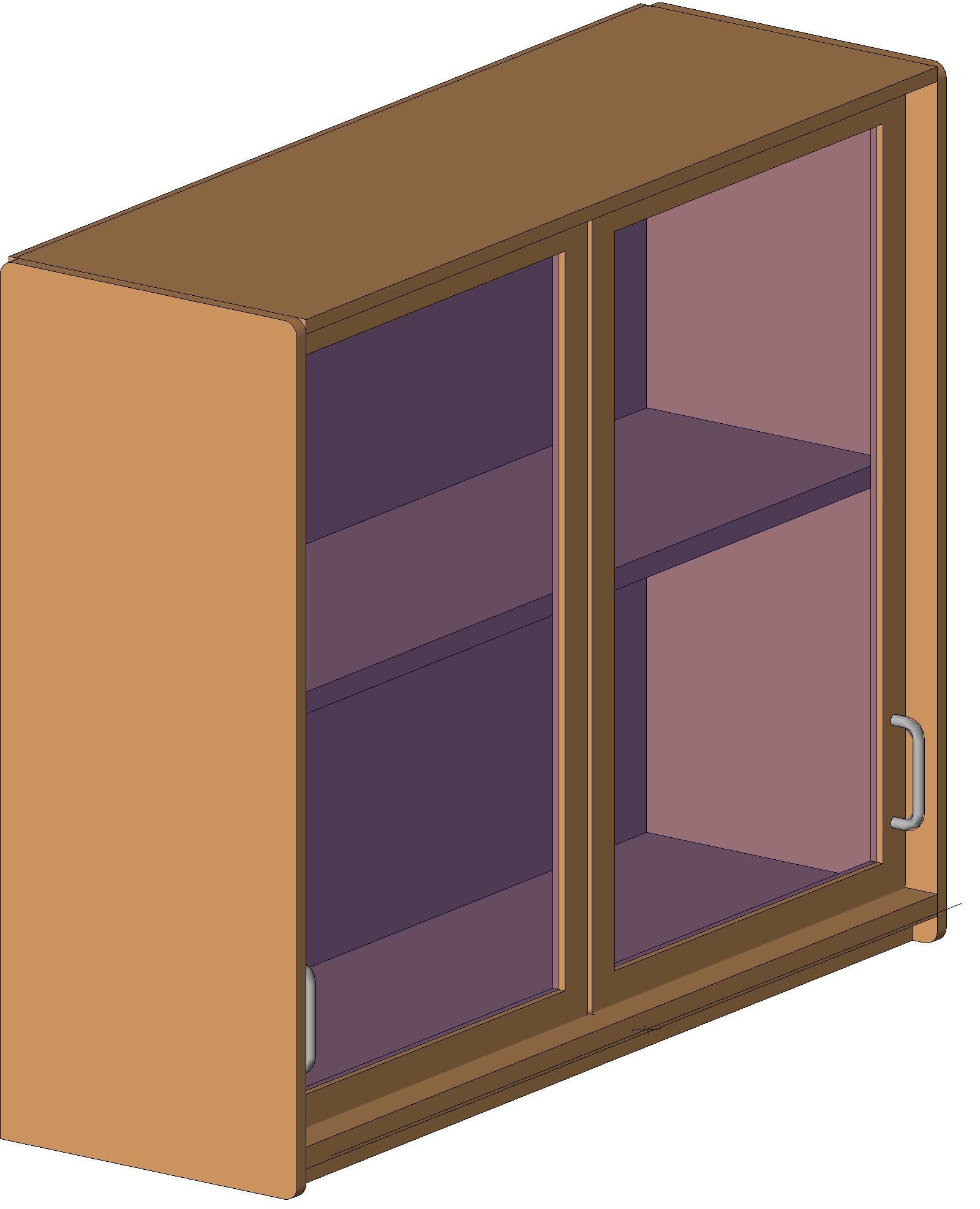 casework wall cabinets wf wm glazed sliding double door specrite designs