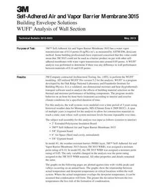 <!-- 024 -->3015 WUFI Analysis of Wall Section
