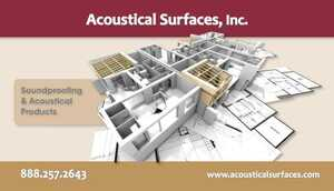 <!-- 020 -->Acoustical Surfaces