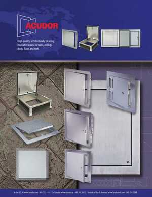 Access Doors and Panels e-Catalog