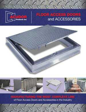<!-- 012 -->FLOOR ACCESS DOORS and ACCESSORIES