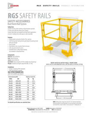 RGS Safety Rails