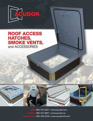 <!-- 014 -->ROOF ACCESS HATCHES, SMOKE VENTS, and ACCESSORIES