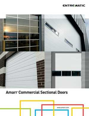 Amarr Commercial Sectional Doors