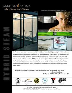 Steam Baths e-Catalog
