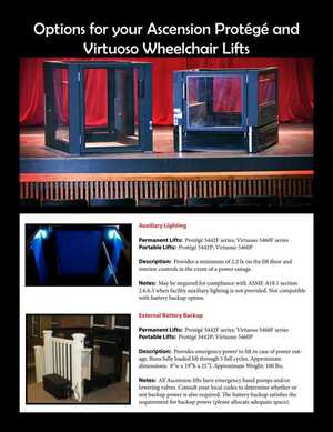 <!-- 014 -->Protege and Viruoso Options Brochure