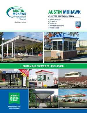 <!-- 010 -->Factory-Built Buildings, Shelters, Canopies, FrameFast Framing Systems Brochure