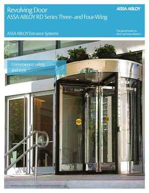 Revolving Door - ASSA ABLOY RD Series Three- and Four- Wing
