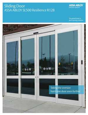 Sliding Door - ASSA ABLOY Resilience R128