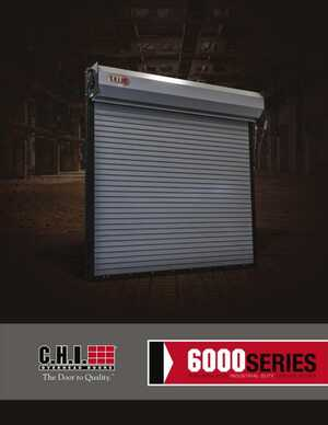 <!-- 026 -->Rolling Steel Non-Insulated Service Doors - Series 6000