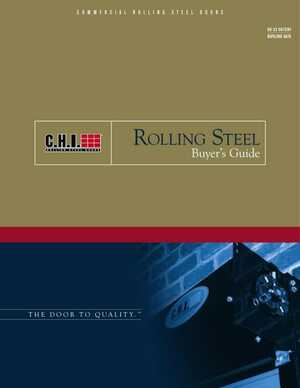 <!-- 022 -->Rolling Steel Overview