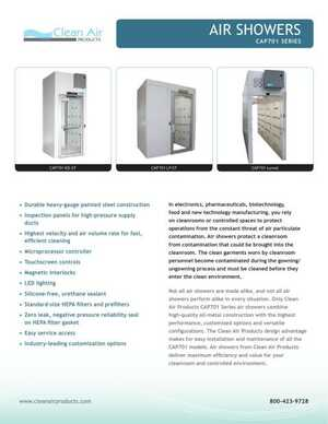 <!-- 014 -->Air Showers Brochure