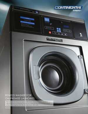<!-- 014 -->REM Series Washers