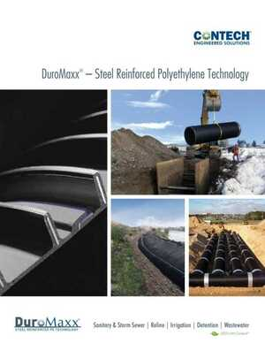DuroMaxx - Steel Reinforced Polyethylene Technology