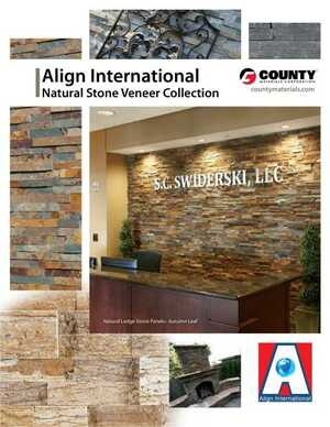 <!-- 038 -->Align International - Natural Stone Veneer Collection