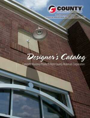 <!-- 012 -->Concrete Masonry Products- Designer's Catalog