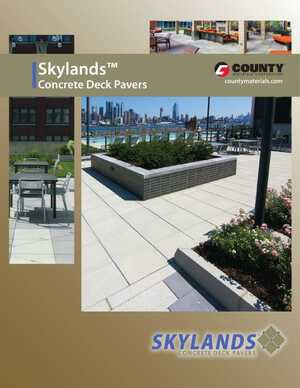 Skylands Concrete Deck Pavers