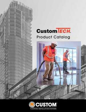 <!-- 012 -->CustomTECH Product Catalog
