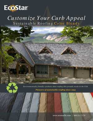 Sustainable Roofing Color Blends