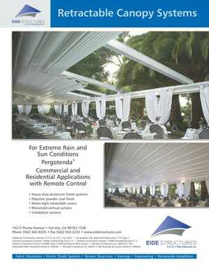 <!-- 012 -->Retractable Canopy Systems