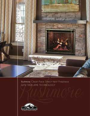 <!-- 021 -->Rushmore Direct-Vent Fireplace