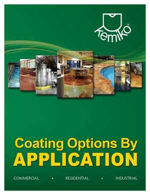 Coating Options by Application