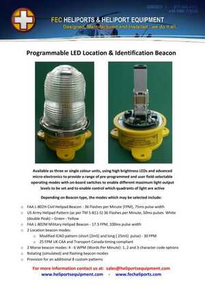 <!-- 018 -->Programmable LED Location & Identification Beacon