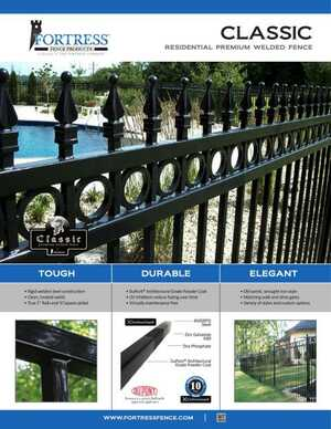<!-- 020 -->CLASSIC Residential Premium Welded Fence