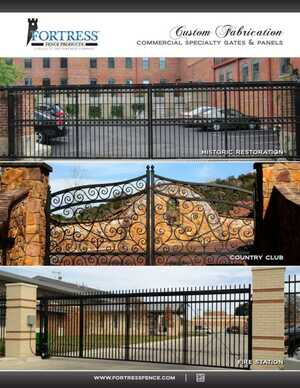 <!-- 022 -->Custom Fabrication - Commercial Specialty Gates and Panels