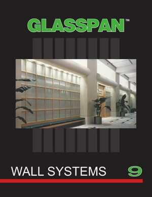 <!-- 012 -->GLASSPAN Wall Systems