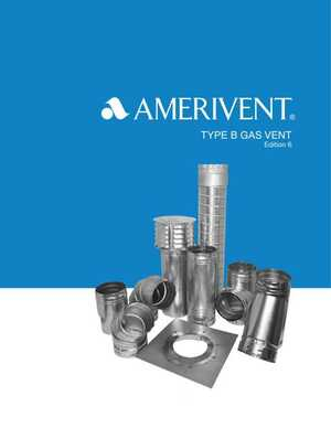 AMERIVENT Type B Gas Vent